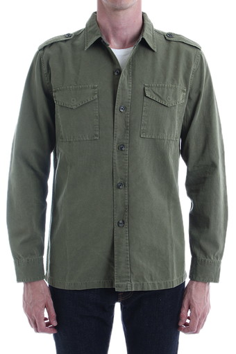MARINER SHIRT JACKET/PIGMENT CAPER GREEN