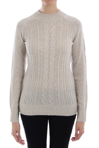 LEON SWEATER/HEATHERED TAUPE