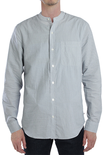COASTSHIRT/STRIPE WHITE BLUE RIDGE