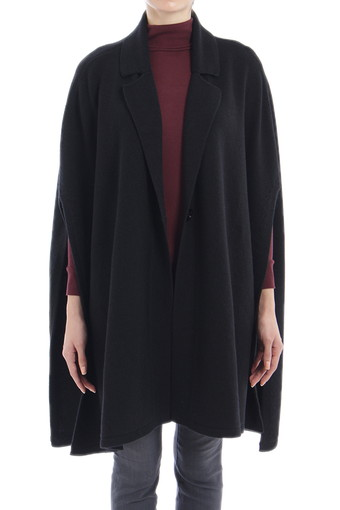 EZRA PONCHO/TRUE BLACK