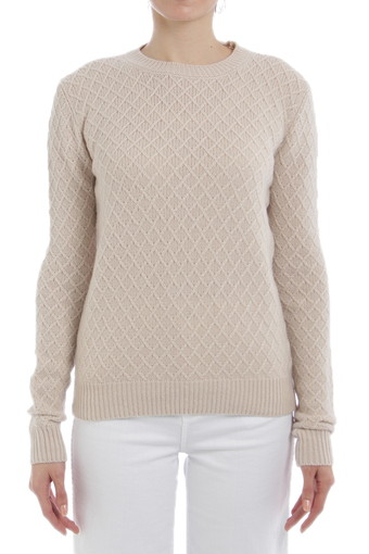RYLAN CREW NECK/HEATHERED OATMEAL