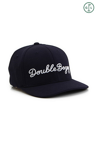 DOUBLE BOGEY FITTED COOL&DRY HAT/NAVAL BLUE