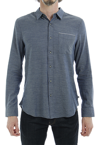 COLTON SHIRT/HEATHER FRONTIER BLUE