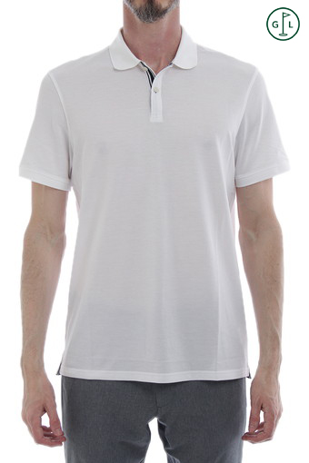 BERRIAN POLO/BRIGHT WHITE