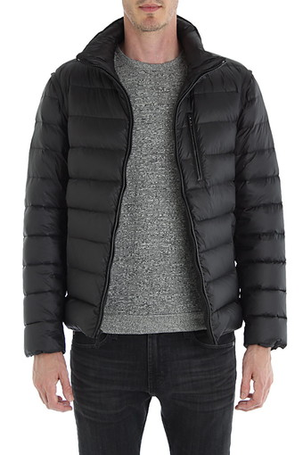 DENTON PUFFER/TRUE BLACK