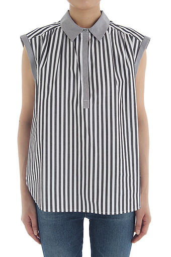 ABIGAIL TOP/BLACK/WHITE