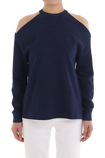 GIZI SWEATSHIRT/BLUE RIVER