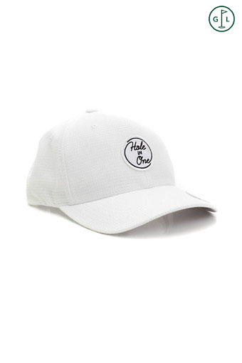 HOLE-IN-ONE PTH HAT/BRIGHT WHITE