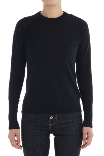 JOHANNA SWEATER/TRUE BLACK