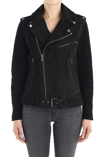 REESE MOTO JACKET/TRUE BLACK