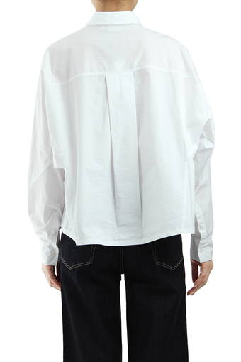 ACOUSTIC BUTTON UP/TRUE WHITE