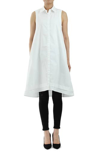 CLOVER DRESS/TRUE WHITE