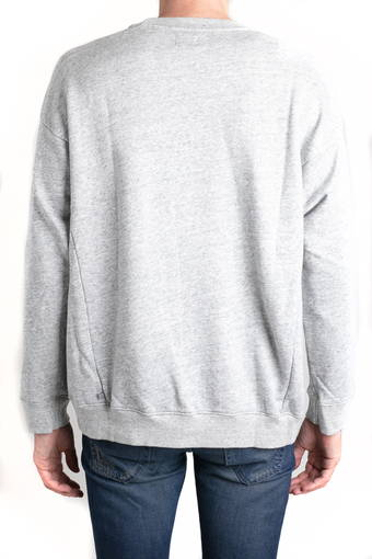 ARCHETYPE OVERSIZED PULLOVER/HEATHER GREY