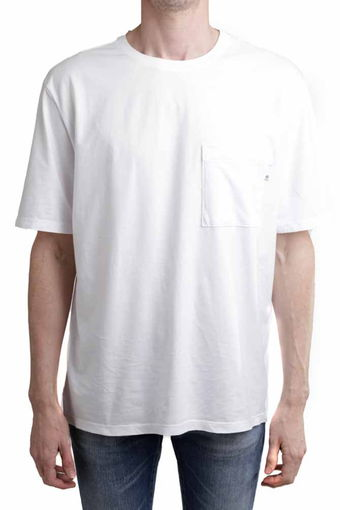 ARC POCKET TEE/TRUE WHITE