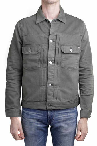 OMAHA JACKET/7 YEARS ASH GREEN