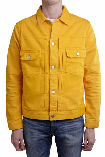 OMAHA JACKET/7 YEARS GOLDEN OCHRE