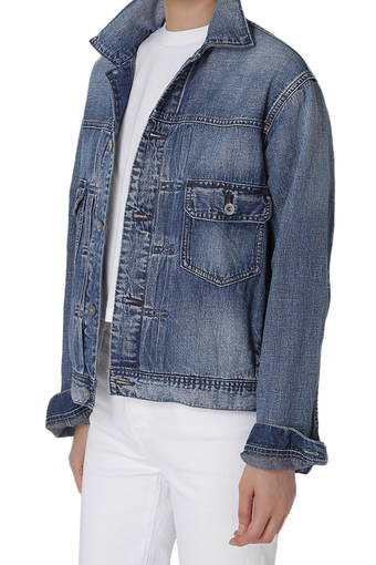 CASSIE JACKET/BLUE HAZE